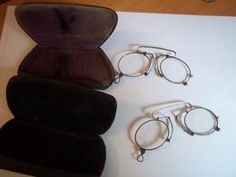 2 Binocles Dans Leur Jus Avec étui Pour Chacun - Glasses