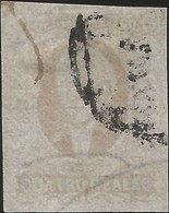 J) 1861 MEXICO, HIDALGO, 4 REALES, OVAL CANCELLATION, PLATE I, MN - Mexico