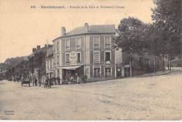 """78 - HARDRICOURT : Avenue De La Gare Et Boulevard Carnot ( Bar Billard """" AU RENDEZ VOUS DES PECHEURS """" - CPA  Yvelines - Hardricourt"""