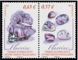 """TAAF YT 686 & 687 Paire  """" Minéraux """" 2014 Neuf** - Französische Süd- Und Antarktisgebiete (TAAF)"""