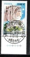 France 2019.Abbatiale Saint-philibert-de-Grand-Lieu.Cachet Rond Gomme D'Origine - Frankreich