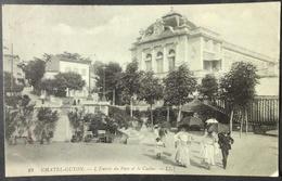 CPA 63 CHATEL-GUYON - L'entrée Du Parc Et Le Casino -  LL19 -  Réf. K 71 - Châtel-Guyon