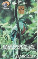 GUATEMALA - Bird, Quetzal, Chip GEM3.3, Used - Guatemala