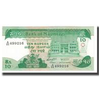 Billet, Mauritius, 10 Rupees, KM:31c, NEUF - Maurice