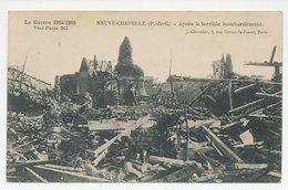 Picture Postcard Paris France 1917 WWI  - Neuve-Chapelle Bombardment - POW Card Sent From Internment Camp Zeist - Kerken