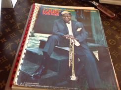 Musique Partition Louis Armstrong Song Book Trumpet Trompette édition Treasury En L état - Autres
