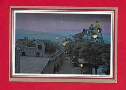 CARTOLINA NV SAN MARINO - La Prima Torre Di Notte - 10 X 15 - San Marino