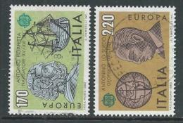 1980 ITALIA USATO EUROPA SASSONE S.365 - IU1-7 - 6. 1946-.. República