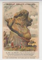 """BO / Chromo Didactique Vieillemard  Curiosités Naturelles De France,LE ROC """"LE BELIER"""",plage De PLOUMANAC'H - Altri"""