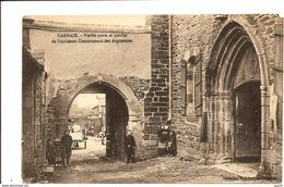 CARHAIX - Vieille Porte - Et Porche De L'ancienne Communauté Des Augustines - VENTE DIRECTE X - Carhaix-Plouguer