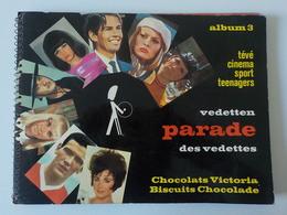 1960 Sixties Album 3 Chocolat Victoria Parade Des Vedettes Chromos Chanson Cinéma Sport Teenagers 1970 - Cioccolato