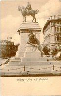 MILANO - MON. A G. GARIBALDI. ITALIA ITALY POSTALE PORTAL CPA CIRCA 1900's NON CIRCULE -LILHU - Milano (Milan)