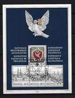 SCHWEIZ Block Mi-Nr. 27 Nationale Briefmarkenausstellung BASLER TAUBE '95, Basel Gestempelt - Blocks & Kleinbögen