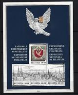 SCHWEIZ Block Mi-Nr. 27 Nationale Briefmarkenausstellung BASLER TAUBE '95, Basel Postfrisch - Blocks & Kleinbögen