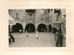 PHoto Prise à Sospel Le 23 Juillet 1961 - Places