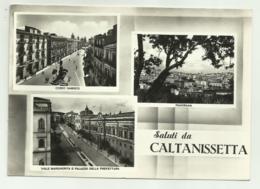 SALUTI DA CALTANISSETA - VEDUTE  - VIAGGIATA  FG - Caltanissetta