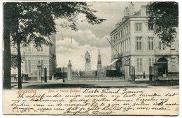 CPA - Carte Postale - Belgique - Bruxelles - Parc Et Statue Belliard - 1903 (B8925) - Forêts, Parcs, Jardins