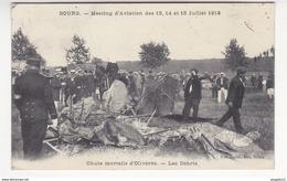 Au Plus Rapide Bourg Meeting Aviation 13 14 15 Juillet 1912 Chute Mortelle D'Olivérès Circulé Le 31 Juillet 1912 - Bourg-en-Bresse