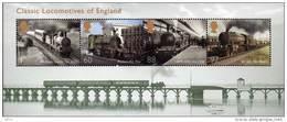 GREAT BRITAIN 2011 Classic Locomotives Of England M/S - Blocchi & Foglietti