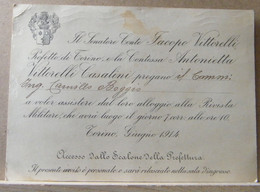 MONDOSORPRESA, PARTECIPAZIONE RIVISTA MILITARE 1914 - Announcements