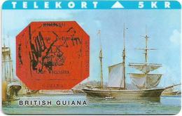 Denmark - TS - Rare Stamps - British Guyana - TDTP038 - 02.94, 3.000ex, Used - Denmark