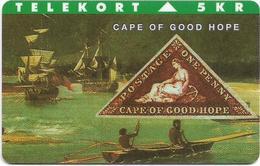 Denmark - TS - Rare Stamps - Cape Of Good Hope - TDTP037 - 02.94, 3.000ex, Used - Denmark