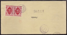 Slovenia, Chainbreakers, Money Transfer Form, Begunje Pri Lescah, 1920 - 1919-1929 Kingdom Of Serbs, Croats And Slovenes