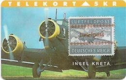 Denmark - TS - Rare Stamps - Insel Kreta - TDTP042 - 03.94, 3.000ex, Used - Denmark