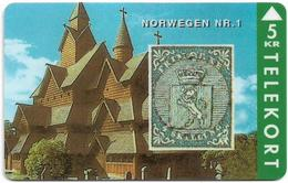 Denmark - TS - Rare Stamps - Norwegen No.1 - TDTP043 - 03.94, 3.000ex, Used - Denmark