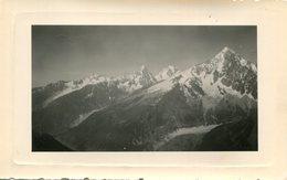 PHoto Des Pics Enneigés D'une Montagne A Identifier - Plaatsen