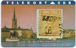 Denmark - TS - Rare Stamps - Tre Skilling - TDTP065 - 06.94, 2.000ex, Used - Denmark