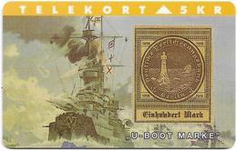 Denmark - TS - Rare Stamps - U-Boot - TDTP063 - 06.94, 2.000ex, Used - Denmark
