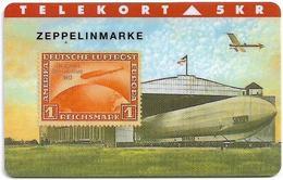 Denmark - TS - Rare Stamps - Zeppelinmarke - TDTP069 - 08.94, 2.000ex, Used - Denmark