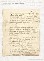 Promesse De Mariage De 1766 (document Collé Sur Une Feuille) - Magny En Vexin - Wedding