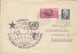 LANGUAGES, ESPERANTO, SPECIAL POSTMARK ON COVER, 1964, GERMANY - Esperanto
