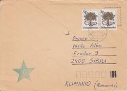 LANGUAGES, ESPERANTO, SPECIAL COVER, 1989, CZECHOSLOVAKIA - Esperanto