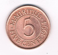 5 CENTS 1994  MARITIUS/4702/ - Maurice