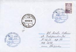 KING MICHAEL THE BRAVE SPECIAL POSTMARKS, OVERPRINT STAMP ON SPECIAL COVER, 2008, MOLDOVA - Moldawien (Moldau)