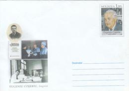 EUGENIU COSERIU, LINGUIST, COVER STATIONERY, ENTIER POSTAL, 2009, MOLDOVA - Moldawien (Moldau)