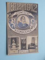 1812 - 1912 Geboortehuis - EEUWFEEST Hendrik CONSCIENCE () Anno 1912 ( Zie Foto Voor Details ) ! - Ecrivains