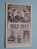 Hendrik CONSCIENCE > EEUWFEEST 1812 - 1912 Geboortehuis () Anno 19?? ( Zie Foto Voor Details ) ! - Ecrivains