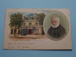 Victor Marie HUGO 26-II-1802 / 22-V-1885 ( Paris - Maison Mortuaire De Victor HUGO ) Anno 190? ( Zie Foto's ) ! - Ecrivains