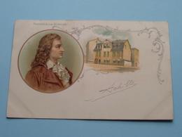 FRIEDRICH Von SCHILLER () Anno 1902 ( Zie Foto's ) ! - Ecrivains