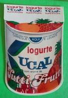 Calendrier De Poche Yaourt Ucal. 1987 - Calendarios