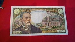 Billet Très Bon état 5 Francs Pasteur N°42340/C47 - 1962-1997 ''Francs''