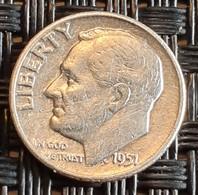 United States 1 Dime 1951 Silver - Bondsuitgaven