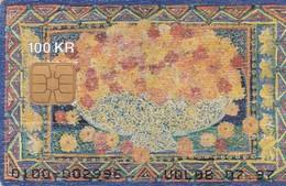 Denmark, DD 093, Wood Card, Only 3909 Issued, 2 Scans. - Denmark