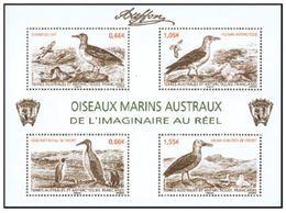 "TAAF Feuillet YT F693 "" Oiseaux Marins "" 2014 Neuf** - Blocs-feuillets"