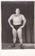 PESAS LEVANTADOR SAO PAULO CIRCA 1940's PHOTO ORIGINAL SIZE 8x13cm - BLEUP - Personas Anónimos