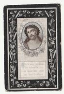 Doodsprentje Joannes MERVILLIE Wonterghem 1839 Priester Brugge Watou Zwevezeele Zantvoorde Overleden Watou 1916 - Images Religieuses